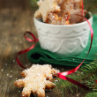 Christmas cookies. Selective focus — Stock Photo #31164671