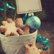 Christmas cookies. Selective focus — Stock Photo #31165003