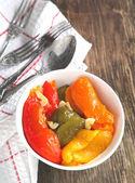 Gemarineerde peper — Stockfoto