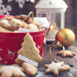 Christmas cookies. — Stock Photo #33084391