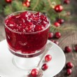 Stock Photo: Cranberry sauce