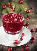 Cranberry sauce — Stock Photo