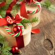 Christmas gift boxes — Stock Photo #34581199
