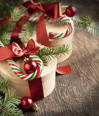 Weihnachten geschenk-boxen — Stockfoto