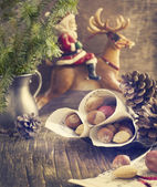 Christmas time. Decoration for Christmas — Стоковое фото