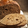 Fresh rye bread — Stock Photo