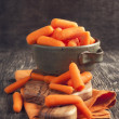 Baby cut carrots — Stock Photo #36133585
