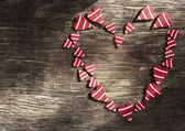 Valentines Day background with heart. — Stok fotoğraf