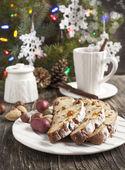 德式圣诞蛋糕 — 图库照片