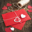 Love letter for Valentine's day — Stock Photo #38723159