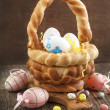Easter bread basket — Stock Photo #38726141