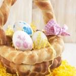 Easter bread basket — Stock Photo #38726151