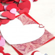 Foto Stock: Valentine card