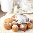 Stock Photo: Sugar and cinnamon fritters