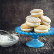 Stock Photo: Sponge kisses with cream