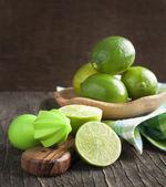 Fresh limes — Stock Photo