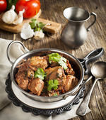 Chahohbili. Georgian chicken ragout. Tradition Georgian cuisine — Stock Photo