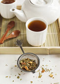 Samurai Chai Mate Tea — Stock Photo