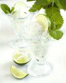 Ice cream Mojito — Stock Photo