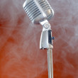 Vintage microphone. — Stock Photo