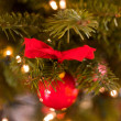 Red christmas decoration — Stock Photo #18155267