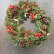 Christmas wreath. — Foto Stock