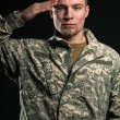 Military man. - Stock Photo