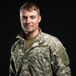 Military man. — Stock Photo