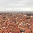 City of Bologna birds view. Rooftops. Italy. Europe. — Stock Photo