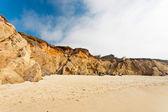 Beach with rocks. Cloud sky. Big Sur. California. USA. — Stock Photo