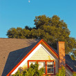 Detail of house in with trees in Napa Valley, California, USA. B — Stock Photo