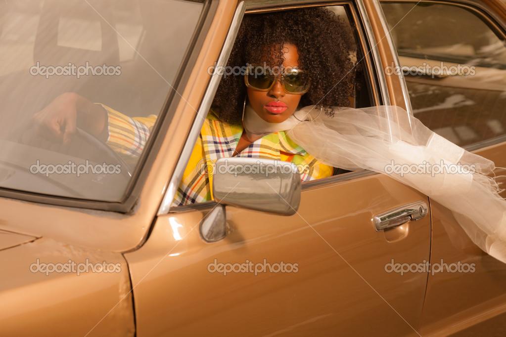 Девушка в стиле 70 х фото