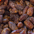 Stock Photo: Dried dates.