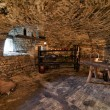 Interior cellar of castle Lavaux-Sainte-Anne. Rochefort. Ard — Stock Photo #35744409