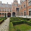Inner courtyard of Margaret of Austria's Palace or Court of Savo — Stock Photo
