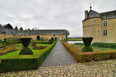 Exterior of the castle Lavaux-Sainte-Anne. Rochefort. Ardennes. — Stock Photo
