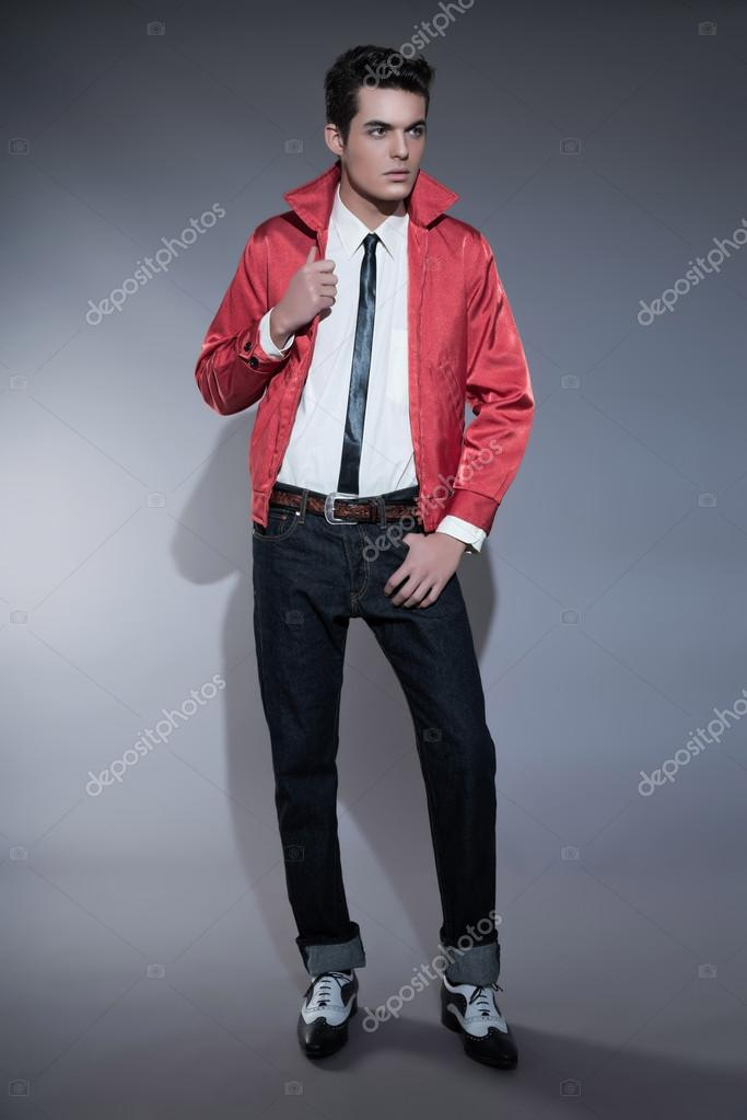 S Mens Fashion Greaser