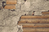 Grundge texture and wood — Stock Photo