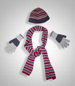 Zimní oblečení — Stock fotografie