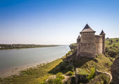 Fortezza di khotyn in ucraina — Foto Stock