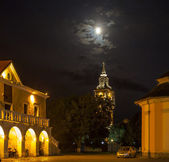Historic City Hall in Kamenetz-Podolsk. Ukraine. — Stock Photo