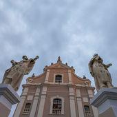 Trinitarsky church in Kamianets-Podilskyi. Ukraine — Stock Photo