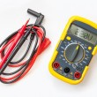 Multimeter, tester isolated on the white background - Stok fotoğraf
