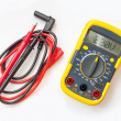 Stock Photo: Multimeter, tester isolated on white background