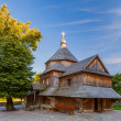 Old wooden church in Kamenetz Podolsky. Ukraine — Stock Photo