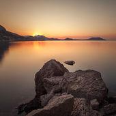 Mountain sunrise — Stock Photo