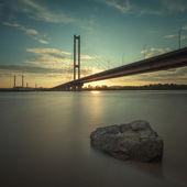 South bridge. Ukraine. Kiev. — Stock Photo