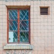 Stock Photo: Old obsolete window