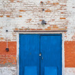 Old obsolete door — Stock Photo