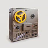 Soviet Retro audio tape recorder — Stock Photo